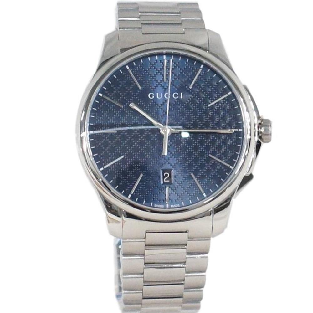 GUCCI グッチ YA126316 Gタイムレス メンズ 腕時計 クォーツ【中古】かんてい局【楽ギフ_包装選択】