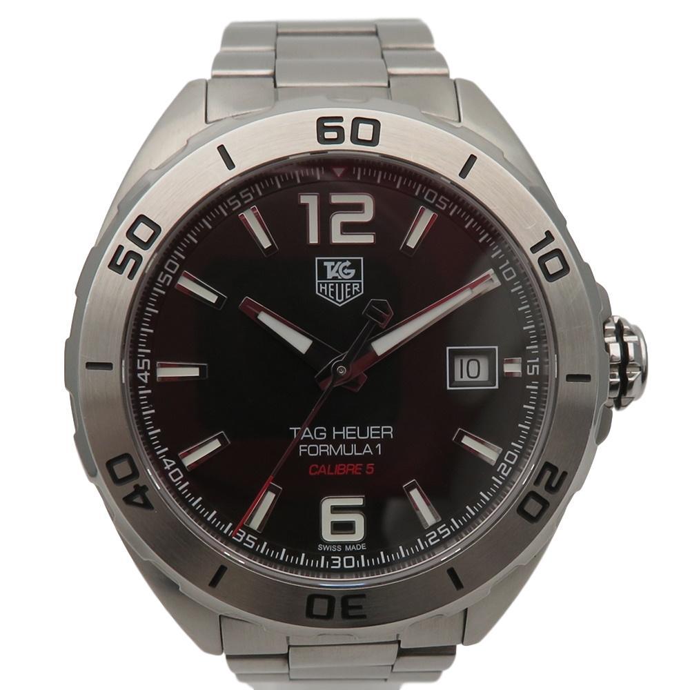 【TAG-HEUER】タグ・ホイヤー フォーミュラ1 自動巻き メンズ腕時計 美品 付属品ありWAZ2113【中古】かんてい局【楽ギフ_包装選択】