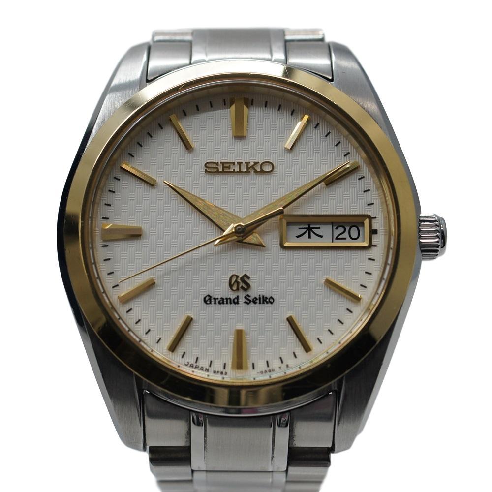 GRAND SEIKO グランドセイコー SBGT038 コンビ メンズ クォーツ腕時計【中古】かんてい局【楽ギフ_包装選択】k19-4654