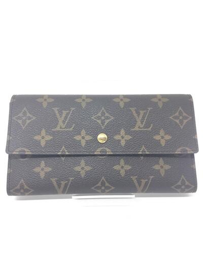 LOUIS VUITTON 【ルイヴィトン】 M61215 三つ折り長財布 TH1013 モノグラム×キャンバス USED-A n18006129