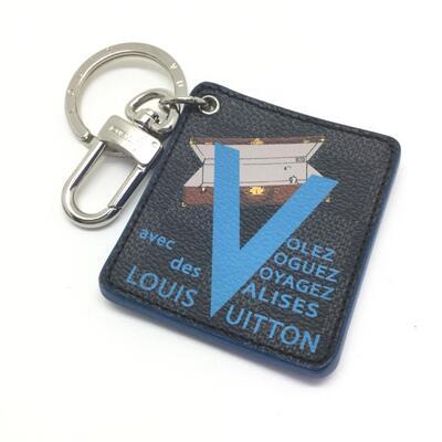 LOUIS VUITTON 【ルイ・ヴィトン】 M68026 イリュストレ VVV CX0155 ダミエ・グラフィット・キャンバス USED-B イニシャル入り k19000019