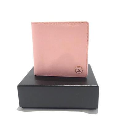 【中古】CHANEL【シャネル】【USED B】A20901 二つ折り財布・ココボタン ピンク レディース コンパクト財布  質屋かんてい局名護店
