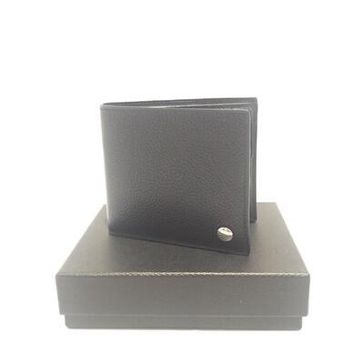 【中古】dunhill【ダンヒル】【特上品】L2W332A 二つ折り財布 ブラック レザー メンズ 質屋かんてい局名護店