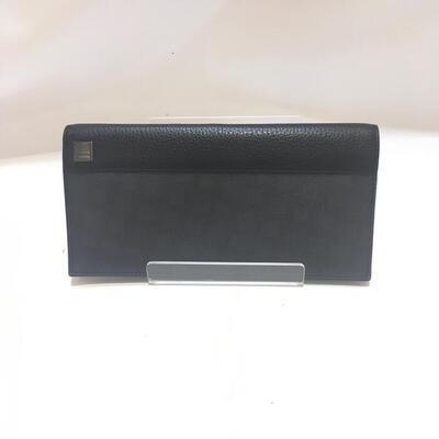 DUNHILL【ダンヒル】 L2H710B 二つ折り長財布 USED-B 【中古品】ブラック g18-4998