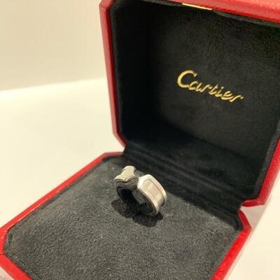 12月限定 X'mas SALE スペシャルプライス Cartier カルティエ K18WG 流行のアイテム ファッションリング ピンキーリング ジュエリー プレゼント 通販 ng1200329927300116 レディースジュエリー レディース メンズ