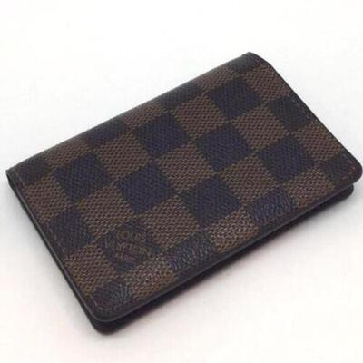LOUIS VUITTON【ルイヴィトン】N61721 ダミエ カードケース【中古】【USED-B】K18-6361