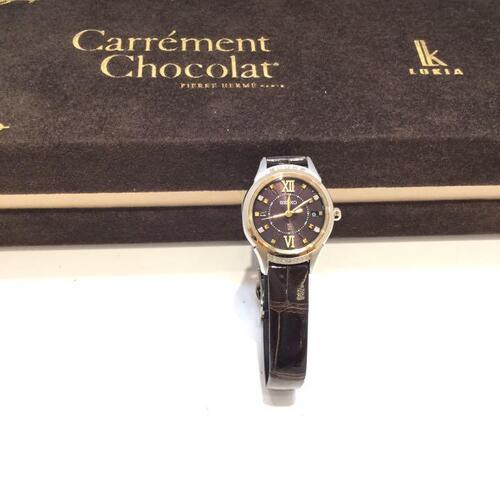 SEIKO LUKIA SSVW142 腕時計 レディース 100m防水 電波ソーラー ピエール・エルメ キャレマンショコラ Carrement Chocolat 送料無料 g19-2738