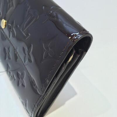 ルイヴィトンLouis Vuittonヴェルニ ポルトフォイユ サラ M91521 財布 長財布 レディース アマラントnwN80Ovmy
