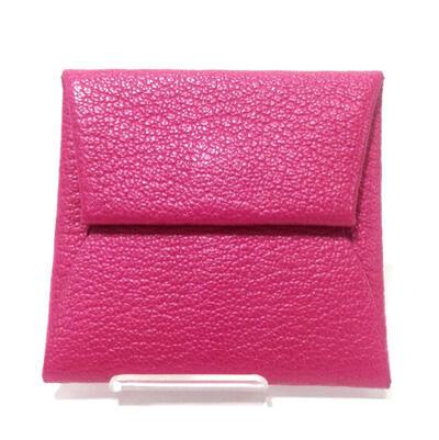 HERMES【エルメス】【USED-B】039759CK-5R バスエィアコインケース コインケース ピンク 赤 n17-2867