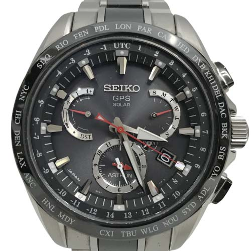 送料無料 格安 価格でご提供いたします 美品 セイコー アストロン SBXB041 腕時計 中古 SSxチタン GPSソーラー 国産品