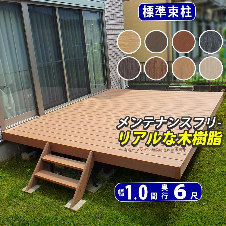 ウッドデッキ樹脂・人工木DIY新築外構の施主支給品