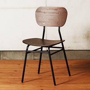 イス 椅子 木製 アンティークチェア カフェ風ヴィンテージ調チェア 木製椅子 天然木 チェア ヴィンテージ アンティーク 天然木チェア 2個セット 家具 【送料無料】