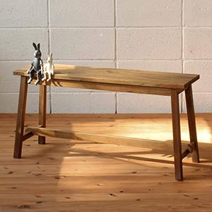 ベンチ 椅子 木 木製 木製椅子 いす アンティーク 北欧 カフェ おしゃれ デザイン ガーデンファニチャーベンチ 家具 【送料無料】