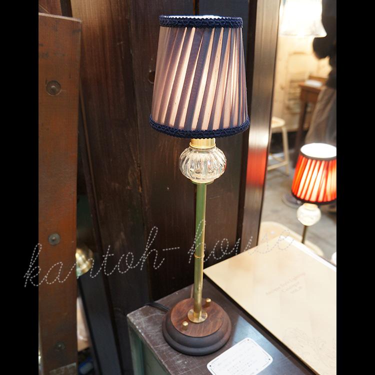 テーブルランプ (スタンドライト/卓上ランプ/シェードランプ) アンティーク調 北欧 おしゃれ 日本製 室内照明 室内 ベッドサイド インテリア レトロ