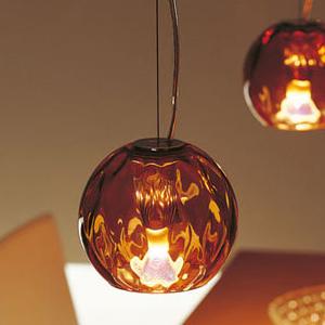 照明 室内照明 リビング照明 インテリア照明 天井照明 モールガラスの吊り下げ照明 モールフラワー 取付工事必要 直付けタイプ