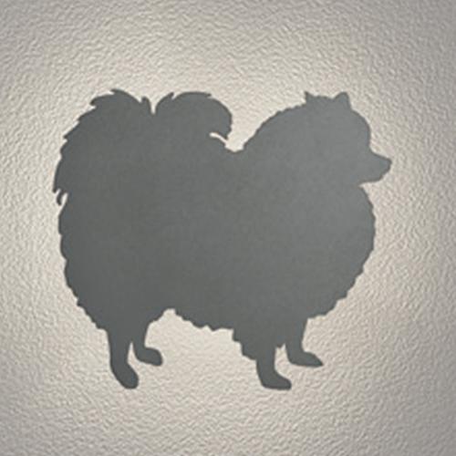LED玄関照明 外灯 間接照明 イヌ シルエット灯 壁面照明 おしゃれ センサーなし ウォールライト 犬 ポメラニアンタイプ いぬ