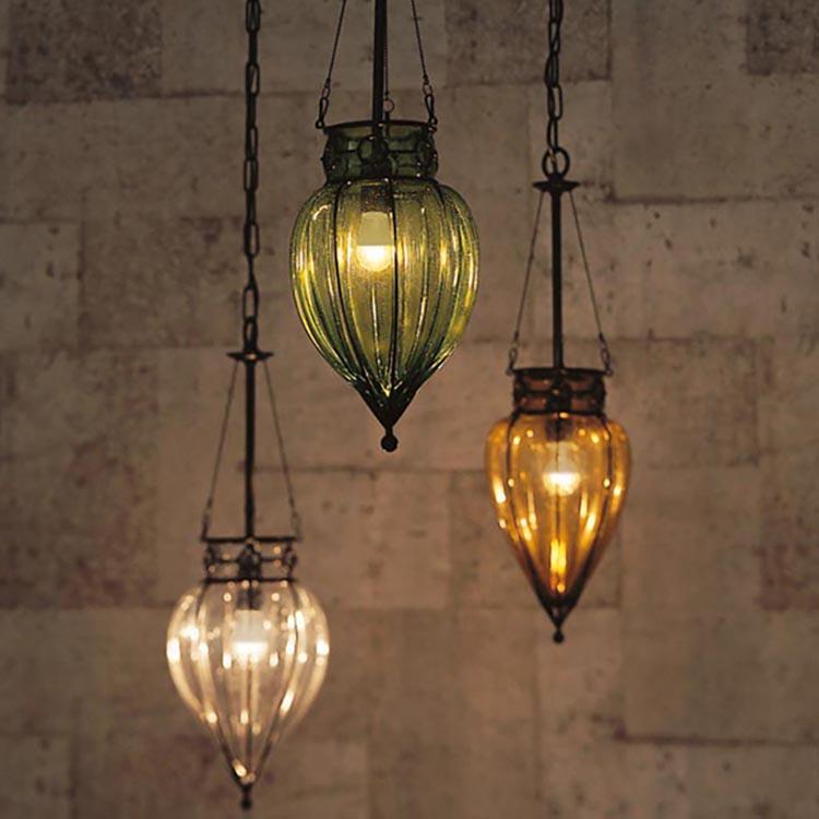 照明 室内照明 リビング照明 インテリア照明 天井照明 吹き込みガラスの照明 しずく LED 引掛シーリング