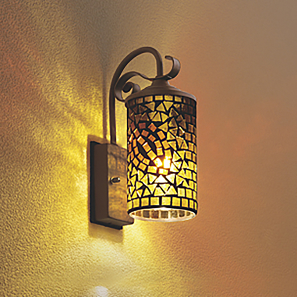 Kantoh rakuten global market design lighting mosaic glass wall design lighting mosaic glass wall light lamp gate lamp wall hangings lighting sensorless outdoor lamp lighting mozeypictures Images