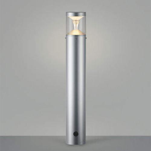 ガーデンライト LED一体型 照明 庭園灯 LEDライト 照明 屋外 エクステリアライト エクステリア 外灯 おしゃれ 屋外用 センサーなし モダンタイプ シルバーメタリック