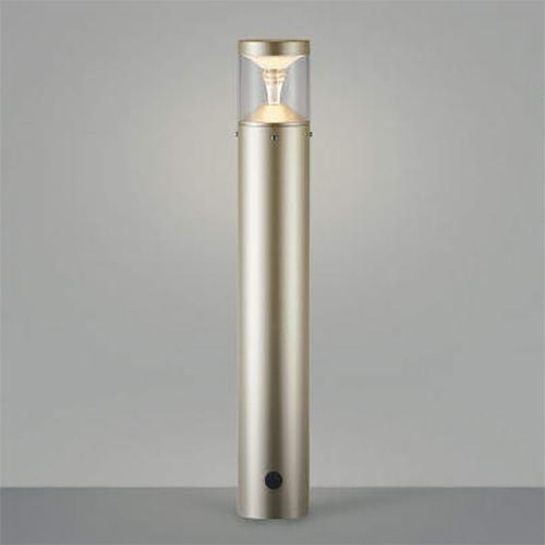 ガーデンライト LED一体型 照明 庭園灯 LEDライト 照明 屋外 エクステリアライト エクステリア 外灯 おしゃれ 屋外用 センサーなし モダンタイプ ウォームシルバー