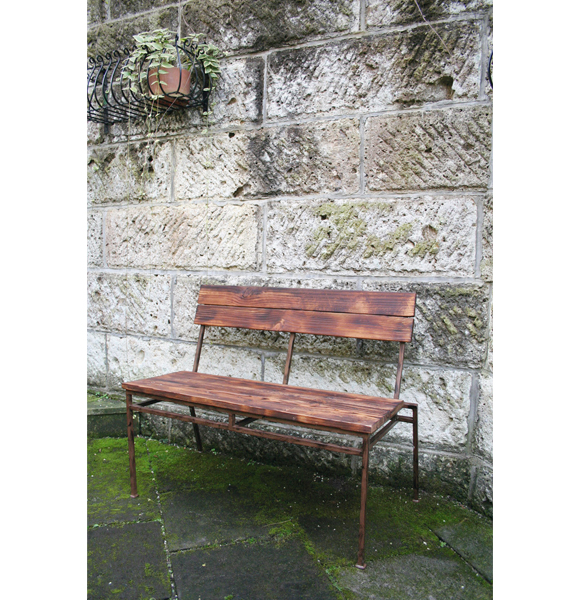 ベンチ イス アンティークチェア ビンテージベンチ カフェ風ヴィンテージ風チェア 家具 【送料無料】
