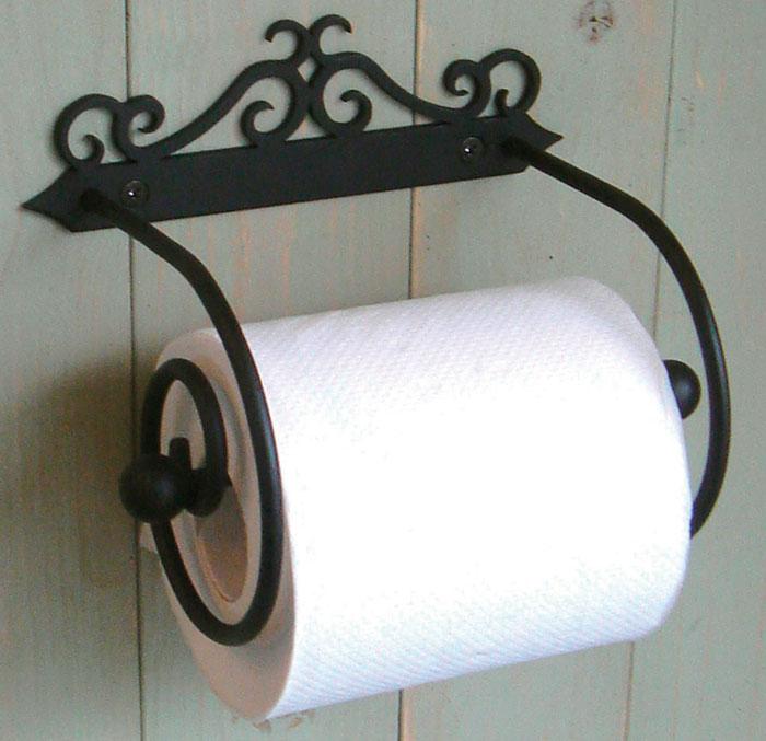 トイレ トイレットペーパー ペーパーホルダー トイレットペーパーホルダー アイアン製トイレットペーパーホルダー 2