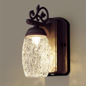 玄関照明 外灯 LED 照明 ポーチライト ライト 照明 屋外 エクステリアライト エクステリア ブラケット 外灯 おしゃれ シンプル ガーデンライト 屋外用 植物モチーフのエレガントデザイン センサー付