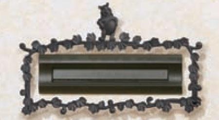 ディズニーポスト口金飾り くまのプーさんB型 モダン 戸建 玄関 アプローチ 外構 引っ越し/新築/新居 交換/買い替え 【全国一律送料無料】