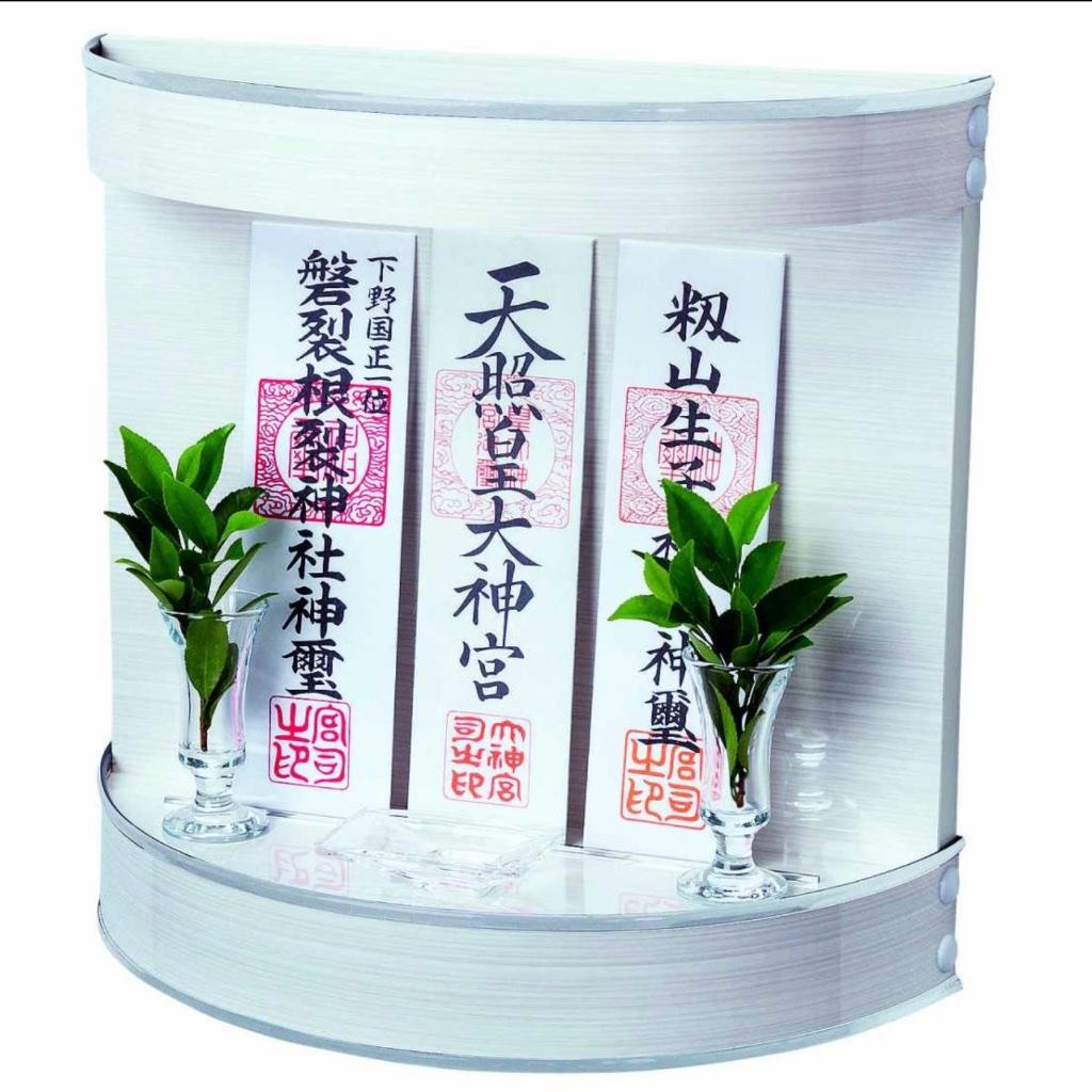 リビング神棚Neo210Wシリーズパールホワイト壁掛け神棚 国産 日本産 モダン インテリア