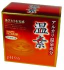 アース製薬 温素 つつみこむ大樹の香り 無色透明の湯 4901080552815-3 訳あり プレゼント 30グラム×15包x3個セット