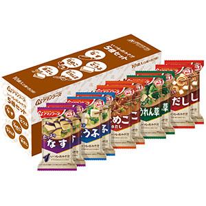 中古 いつものおみそ汁 5種セット 10食入 売り出し 4971334209635-3 3個アマノフーズ