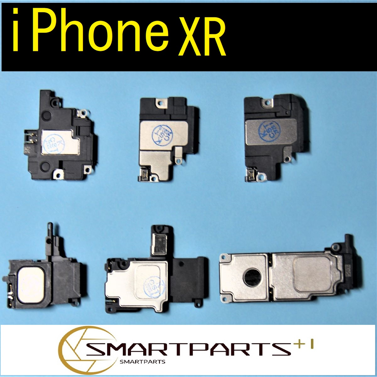 iPhoneXRラウドスピーカー 修理工具セット付き ハイクオリティ お買得 下部スピーカー 修理交換パーツ DIY修理 リペア部品 アイフォン