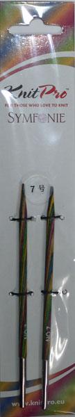 ニットプロ 人気の定番 付け替え式 輪針 新入荷 流行 針先 7号 編み物 KN 70405 手あみ シンフォニーウッド