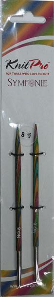 ニットプロ 付け替え式 輪針 春の新作シューズ満載 針先 8号 KN 70406 手あみ 編み物 公式ストア シンフォニーウッド