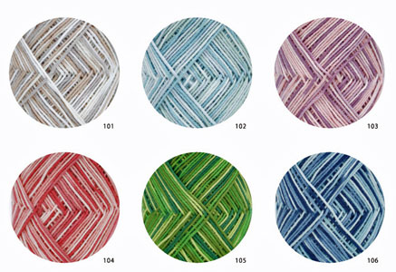 ☆传统风格棉布100丰富多彩的达磨春天夏天线毛线织毛衣财线