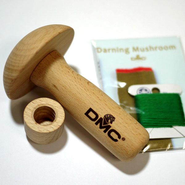 DMC ダーニングマッシュルーム 付け替え式 靴下補修用具 JPT20【KY】