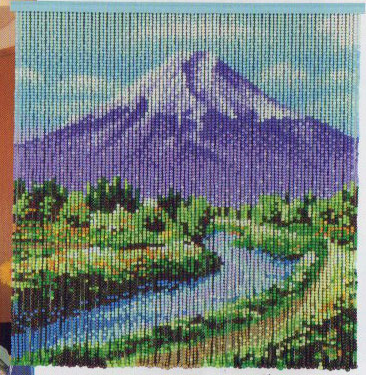 富士山眺望 スキルスクリーンS139 元廣スキルホビーコレクション リハビリに最適