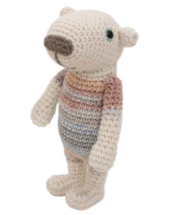 NEWヴァージョン キット シロクマのビクトル HT-3 内藤商事 安心の実績 高価 買取 強化中 キャンペーンもお見逃しなく KN 白くま あみぐるみ 編みぐるみ 編み物 毛糸 エルタデザイン