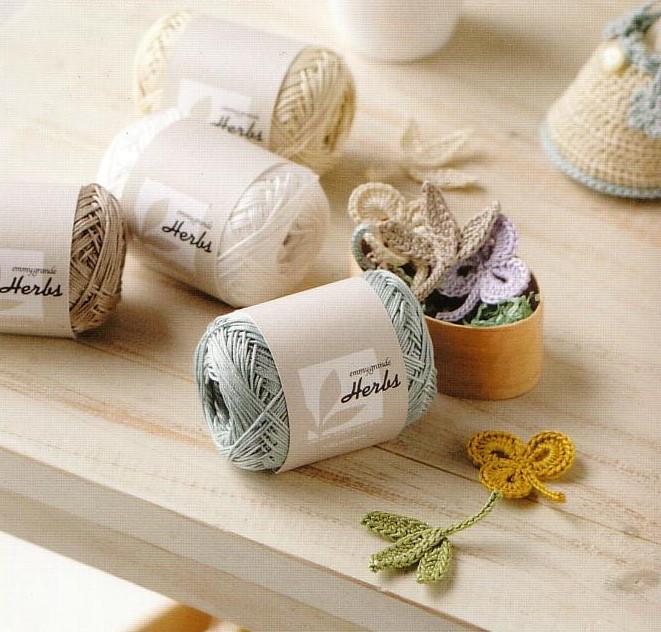 Emigrandeherbs Cotton sewing yarn lace Knitting yarn knitting Sumerian