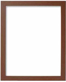 額縁 W-42 ブラウン オリムパス KY 外径41.8cm×35.1cm 額 お金を節約 フレーム 出色 木製