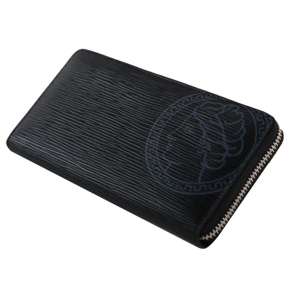 【700円OFFクーポン配布中】長財布 本革 牛革 ブラック メンズ レディース シンプル デザイン 高級 上質 VENUS イタリア カード入れ 多い 送料無料