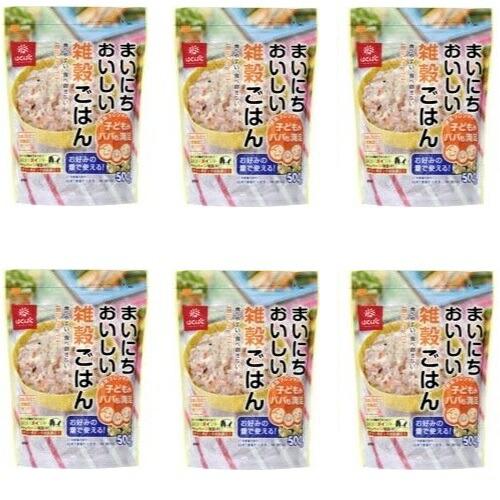まいにちおいしい雑穀ごはん 500g x 6パック セット 送料込 4902571287902 はくばく ◆