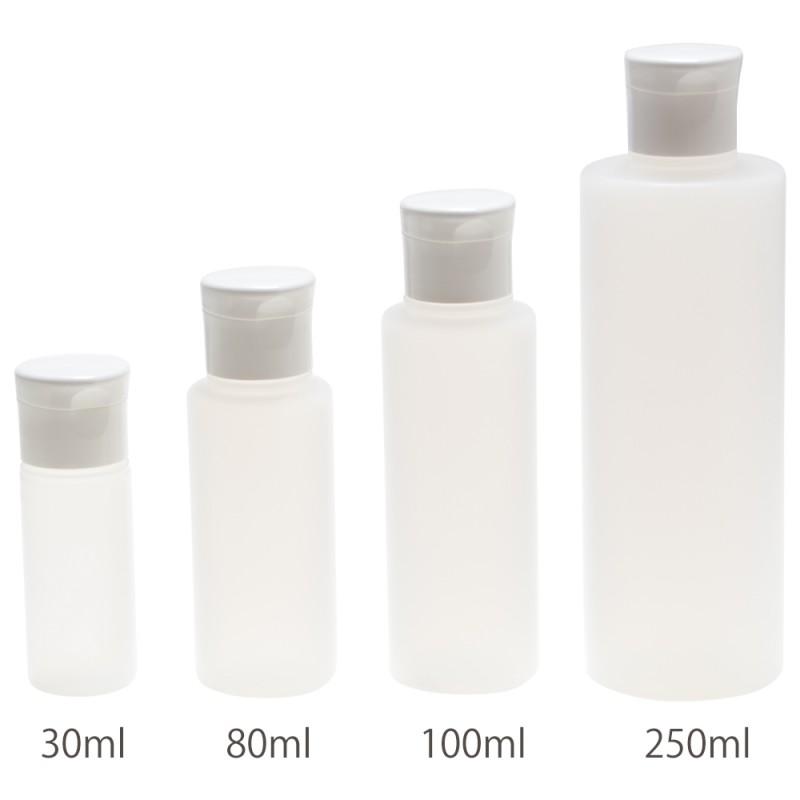 新品 送料無料 ワンタッチで開けられるキャップのついたボトル ポリエチレン容器 ワンタッチキャップ付き 絶品 フレーバーライフ社 30ml