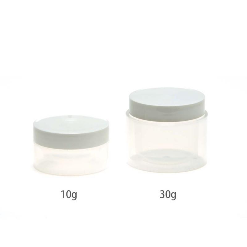 プラスチックのクリーム容器 クリーム容器 プラスチック フレーバーライフ 初売り メーカー公式 10g OT01519