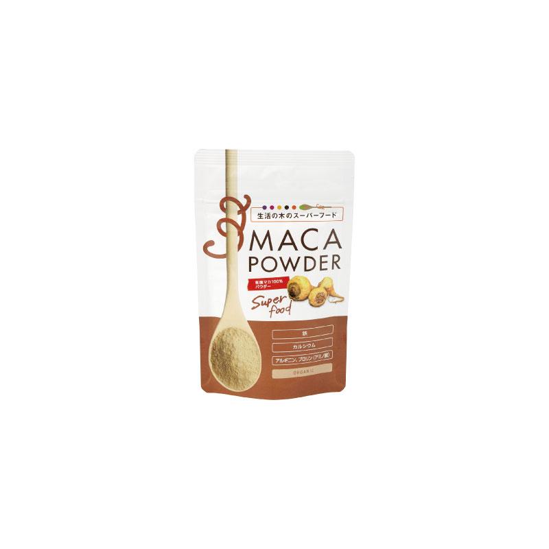 有機マカ100%パウダー 1kg Organic Maca powder 024608080 生活の木(受注生産) ◆