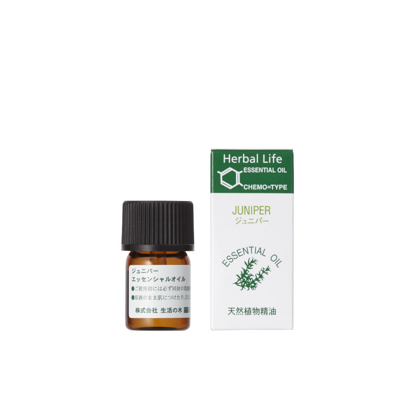 ジュニパー 100ml juniper berry 精油 生活の木 (送料無料)