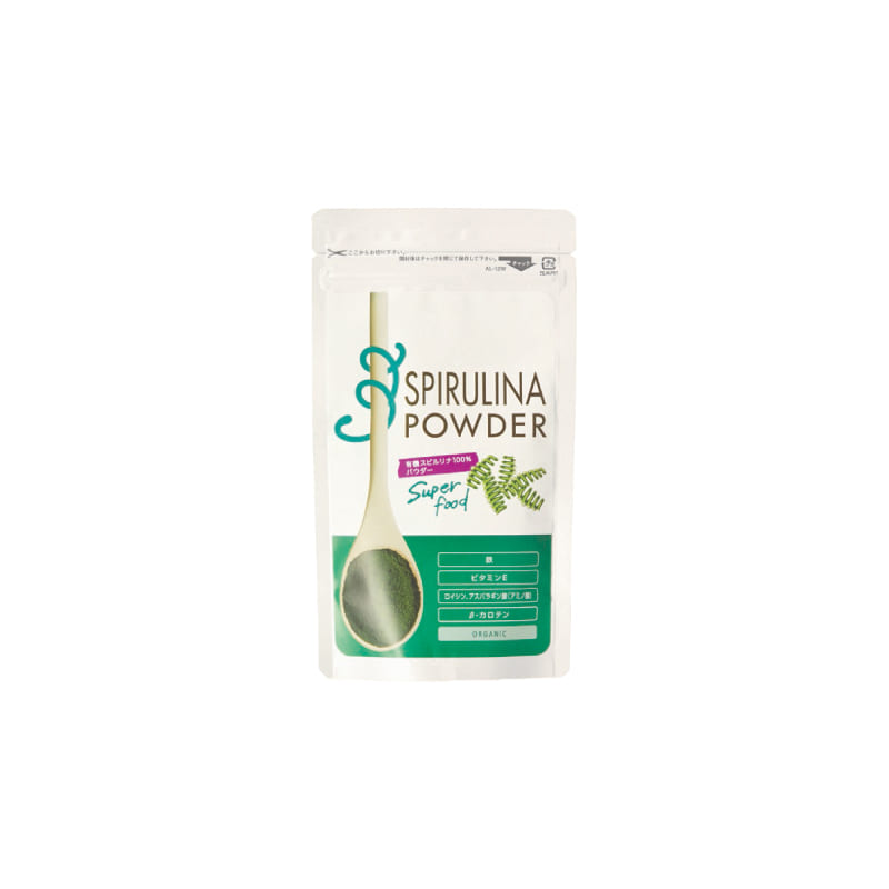 9つの必須アミノ酸が含まれるスーパーフード 有機スピルリナ100%パウダー80g Organic 無料サンプルOK Spirulina 当店は最高な サービスを提供します powder 生活の木 024603100