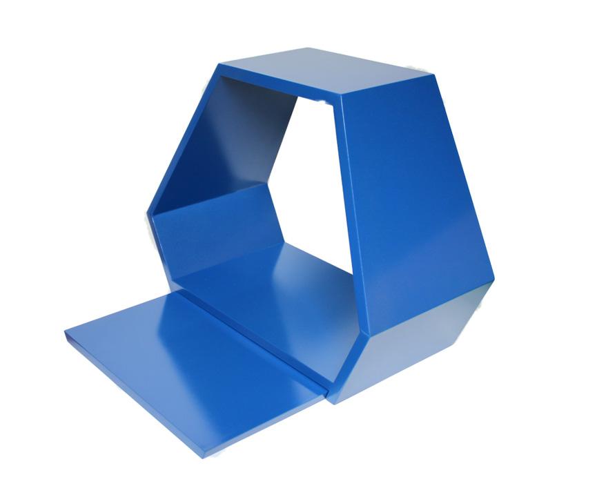【コンパクト仏壇】 「ステージ」 ブルー 【smtb-k】【w3】