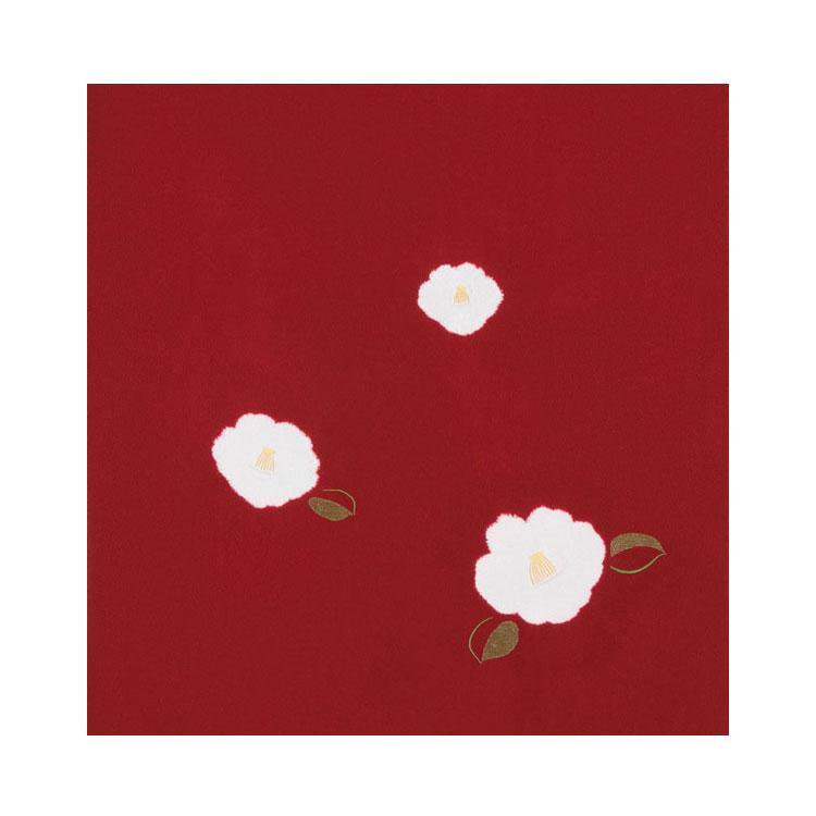 【送料無料+紙箱付】絹のふろしき 椿75cm風呂敷専門店・唐草屋【楽ギフ_のし】