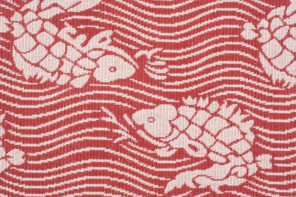 【送料無料+紙箱付】綿の風呂敷(ふろしき)荒磯 120cm風呂敷専門店・唐草屋